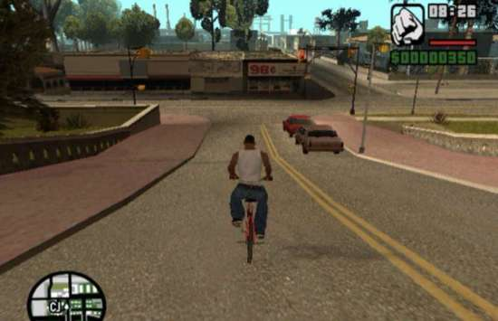 CJ Grand Theft Auto San Andreas