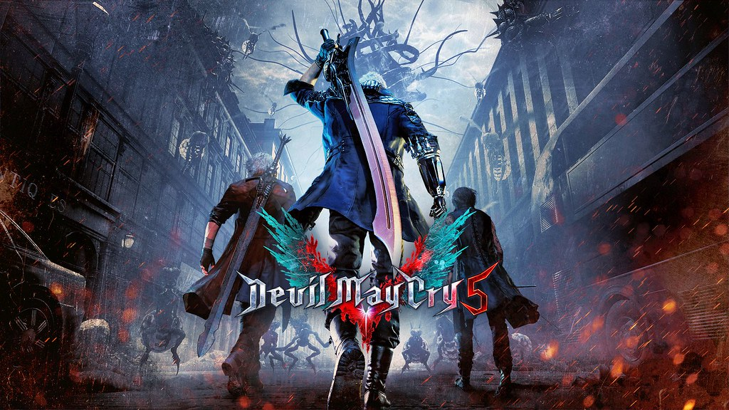 Devil May Cry 5 Dante Nero and Virgil